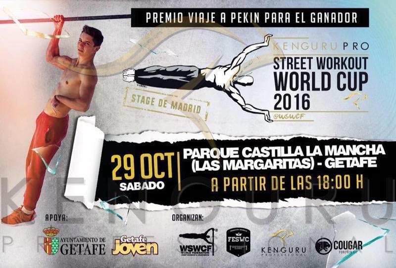Kenguru Pro Street Workout World Cup stage in Madrid