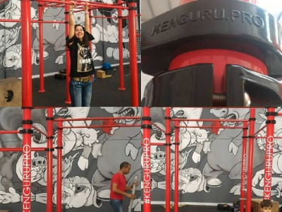 More and more new Kenguru Pro indoor calisthenics gyms are built